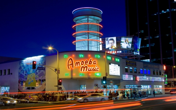 With Amoeba Records' Hollywood location in limbo, the fate of music retail on Sunset wavers