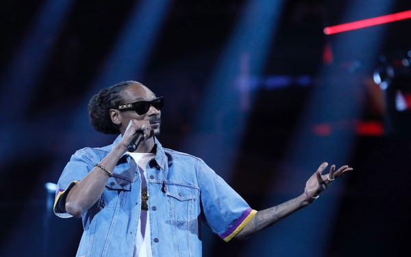 Snoop Dogg's latest reinvention is heaven-sent