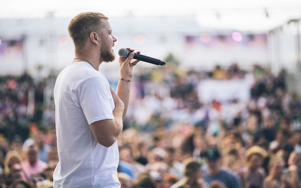 Imagine Dragons' Dan Reynolds true 'Believer' in change