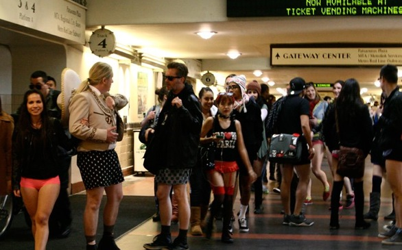 You Can Go Pants-less on the Metro this Sunday