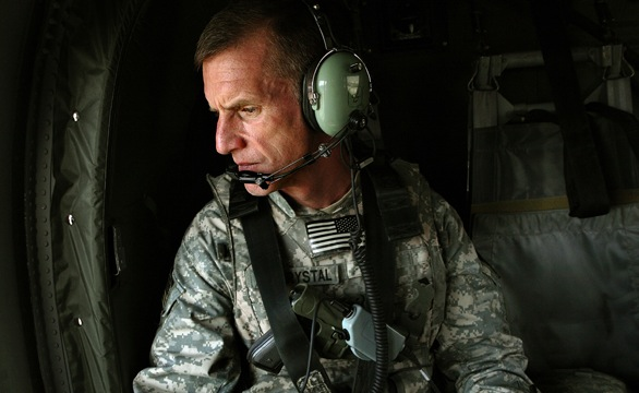 Obama fires McChrystal after disparaging comments
