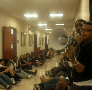 UCLA Students Stage Sit-In Over Racism at UC Schools
