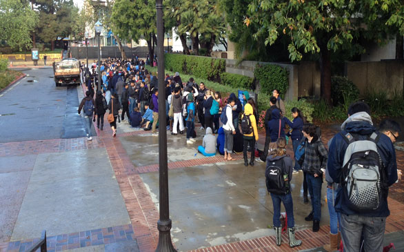 UCLA Students Camp Out for Spring Sing Tickets