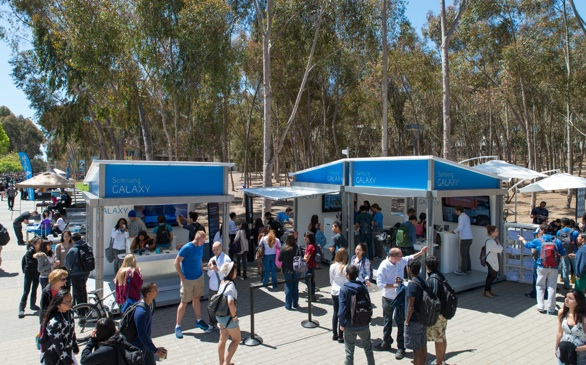 Samsung Mobile Bringing Pop-Up Stores to L.A. Colleges!
