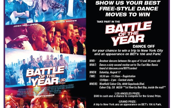 <i>Battle of the Year</i> Dance Off Looking for Dancers!