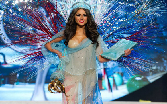 American College Student Wins Miss Universe Contest