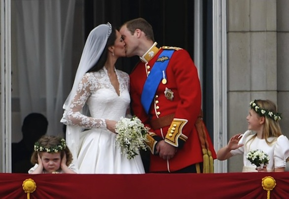 Britain's Prince William and Kate Middleton Marry in Westminster Abbey