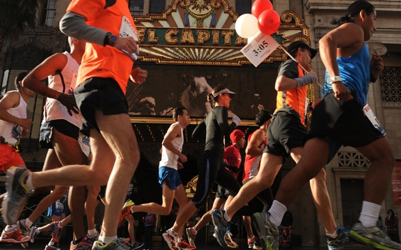 L.A. Marathon to Cause Sunday Street Closures