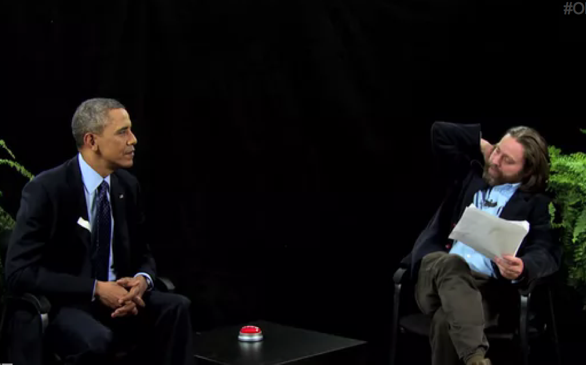 Obama Promotes Affordable Care Act on Funny or Die