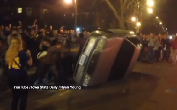 VIDEO: Why Did Iowa State University Students Riot?