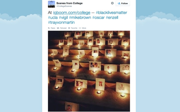 UCLA Law Students Hold Vigil for Mike Brown, Unarmed Blacks 'Failed by Injustice System'