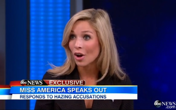 Miss America Responds to Hazing Allegations, Claims They're Untrue