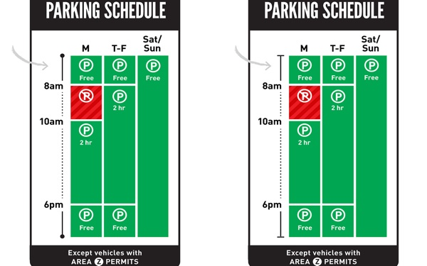 New L.A. Parking Signs Might Actually Make Sense