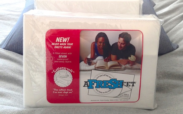College Students Can Avoid Washing their Sheets with Afresheet