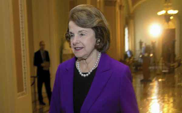 Feinstein resolute in opposition to legalizing marijuana