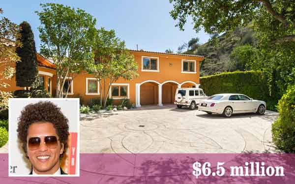 Bruno Mars buys loaded estate in Studio City foothills area
