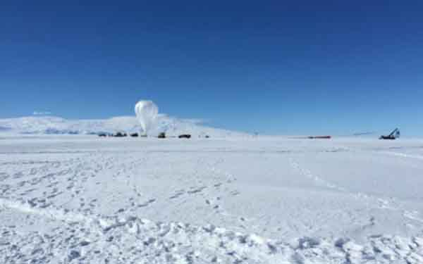 Cal Tech's SPIDER experiment touches down in Antarctica