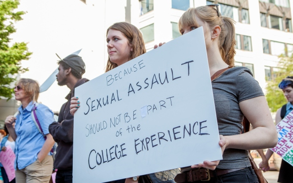 UC Berkeley sex assault conference draws student protest
