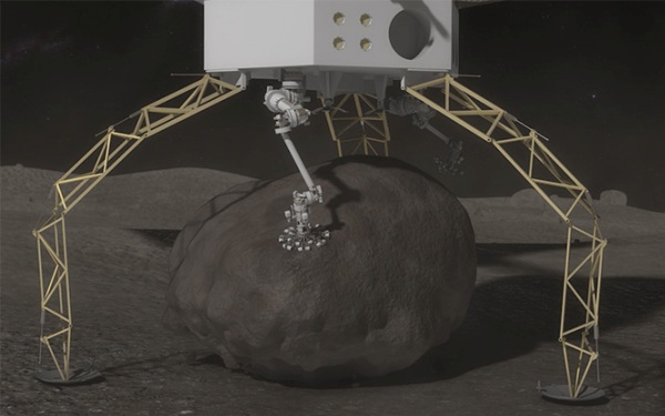 NASA aims to pluck boulder from asteroid, bring it to the moon