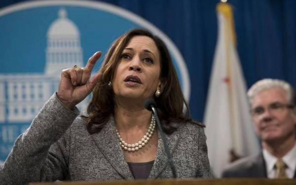 California AG Kamala Harris urges forgiveness of student debt from predatory colleges