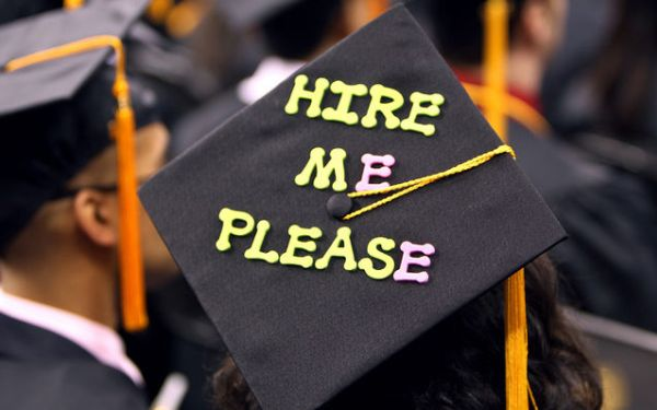 Jobs for recent college grads likely to grow