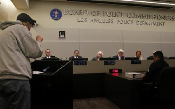 Divided Police Commission approves rules for LAPD body cameras