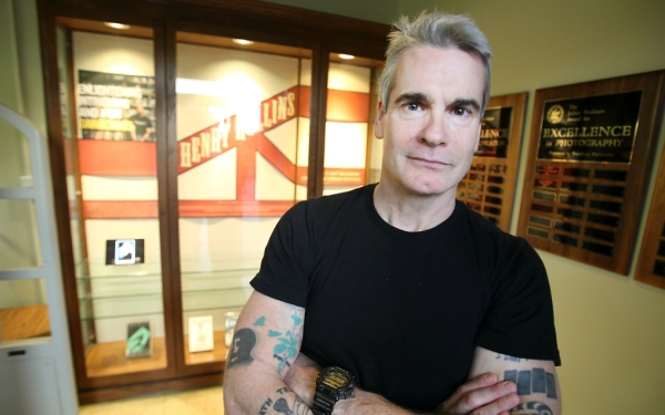 Woodbury University awards honorary degree to musician/activist Henry Rollins