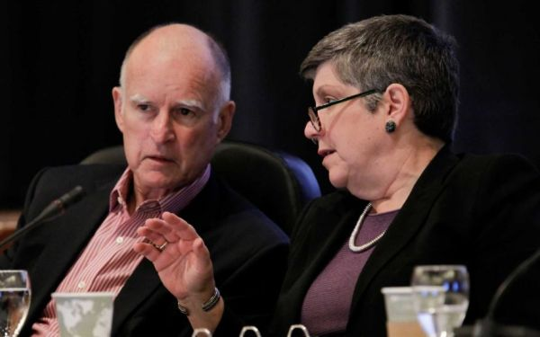 Gov. Brown, UC President Napolitano strike a deal