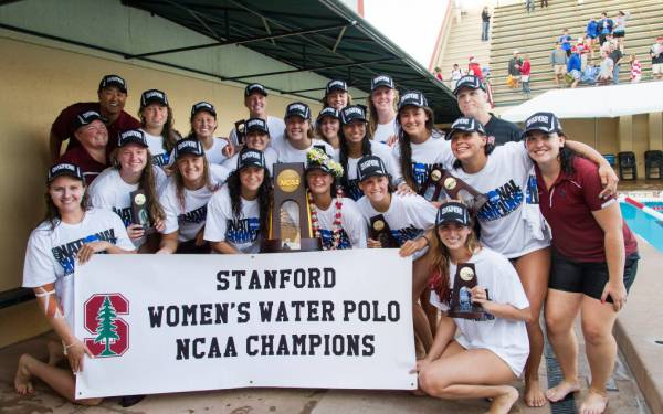 Stanford makes history at women's water polo national championships with victory over UCLA