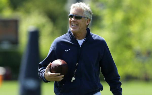 Pete Carroll says he's ready for a busy weekend at USC
