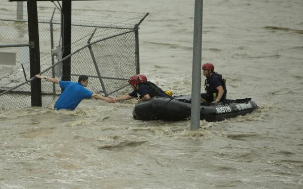 Epic Texas rainfall floods parts of Houston, Austin, Dallas; thousands displaced