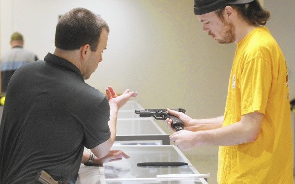 Gun rights advocates' push for campus-carry measures like Texas' is slow going
