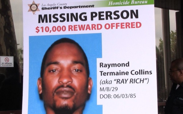 $10,000 reward offered in case of music producer who vanished in Compton