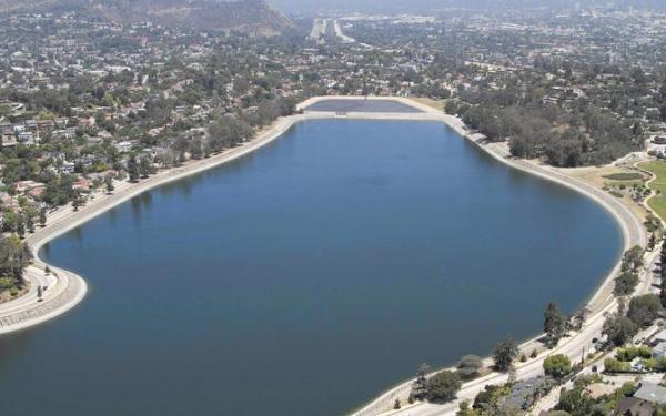 L.A. water department will drain Silver Lake Reservoir this summer