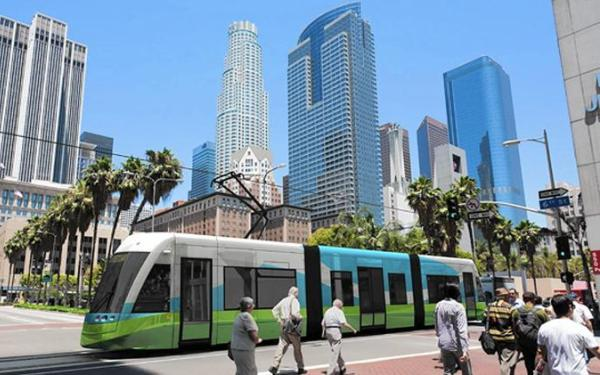 Funding and travel-time concerns impede proposed L.A. streetcar line