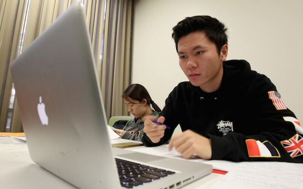 Not only China's wealthy want to study in the U.S.