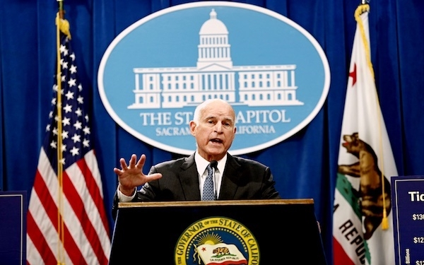 California's budget deficit is back, Gov. Jerry Brown says