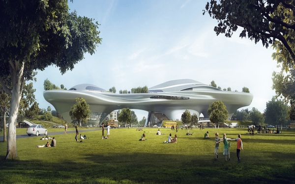 Los Angeles will be home to George Lucas' $1 billion museum
