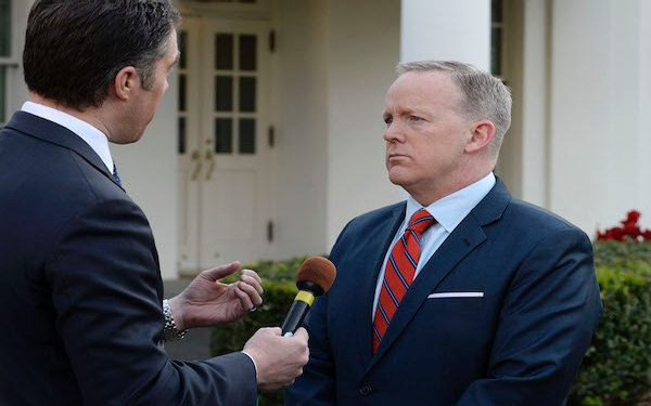 White House press secretary Sean Spicer apologizes for saying Hitler didn't use chemical weapons