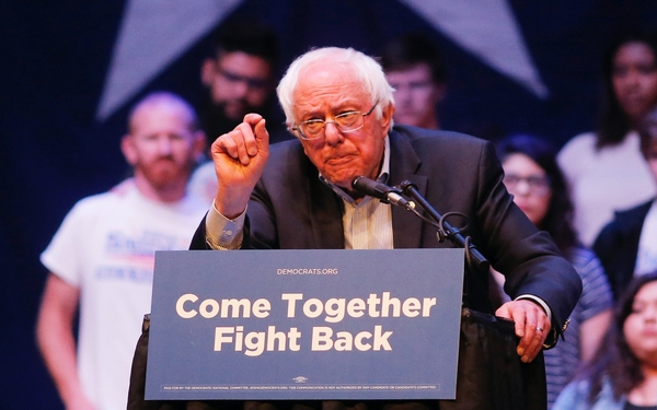 If Sanders runs for president, can anyone stop him?