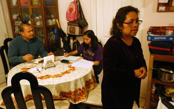 'This can't be the end': For this Salvadoran family, LA feels like it has always been home