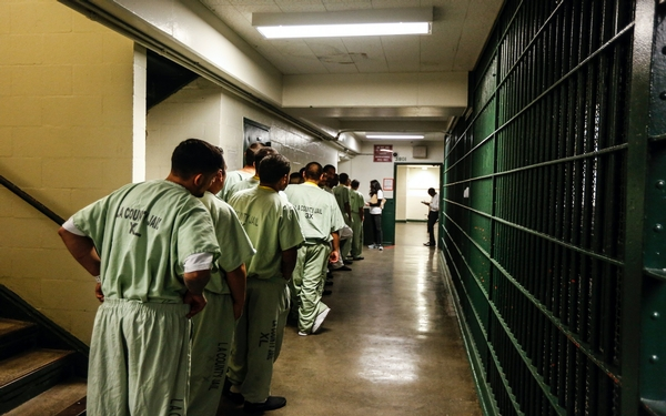 Voting registration drive makes inroads in unexpected territory: county jails