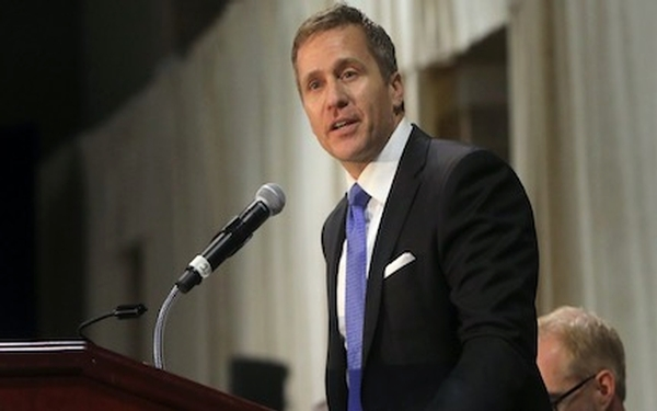 Missouri's embattled Gov. Eric Greitens resigns