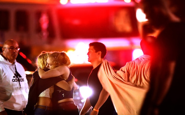 Gunman kills 12 at California bar packed with college students; suspect identified