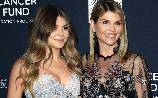 Lori Loughlin's daughter said she didn't 'really care about school' on her YouTube channel