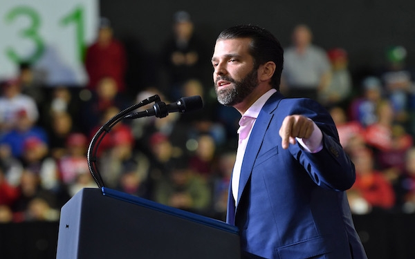 Donald Trump Jr. mocks college admission scandal, despite his past at Penn