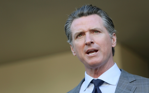 The rich buying names on college buildings is 'legal bribery,' Gov. Gavin Newsom says