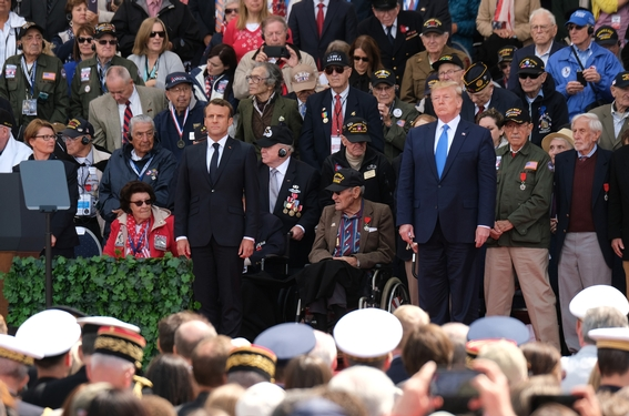 Trump marks 75th D-Day anniversary, heralds 'unbreakable' alliances