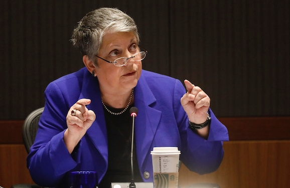 University of California President Janet Napolitano to step down
