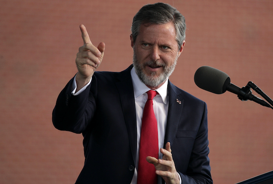 Falwell's Liberty University says about 1,700 students returned